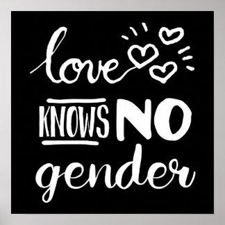 El amor no sabe ningún género LGBT Póster