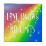 El amor no sabe ningún límite azulejos