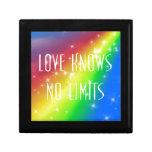 El amor no sabe ningún límite caja de recuerdo