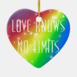 El amor no sabe ningún límite ornatos