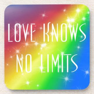 El amor no sabe ningún límite posavaso