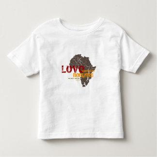 El amor no sabe ninguna frontera - adopción de playera de bebé