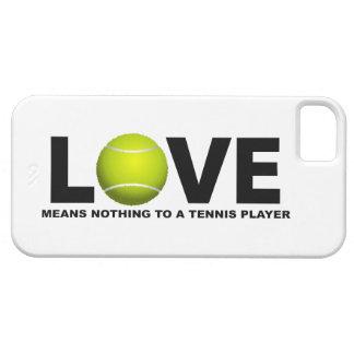 El amor no significa nada a un iPhone 5 del Funda Para iPhone 5 Barely There