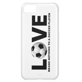 El amor no significa nada a un iPhone 5 del jugado