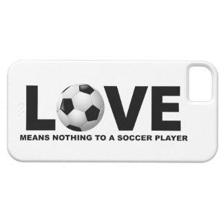 El amor no significa nada a un iPhone 5 del jugado iPhone 5 Case-Mate Funda