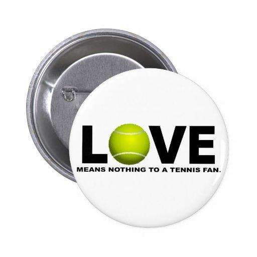El amor no significa nada a una fan de tenis