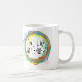 El amor no tiene ningún género taza