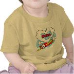 El amor Nonna embroma el aeroplano Camisetas