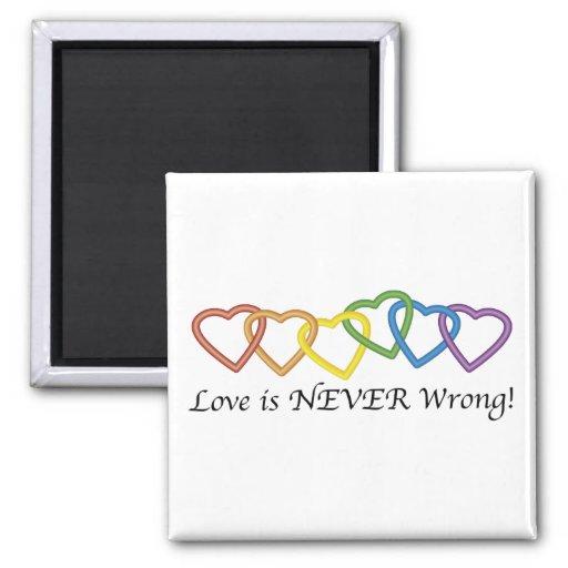 El amor nunca es imán incorrecto