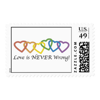 El amor nunca es sellos incorrectos
