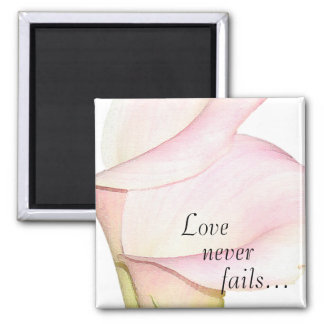 El amor nunca falla el imán de los lirios