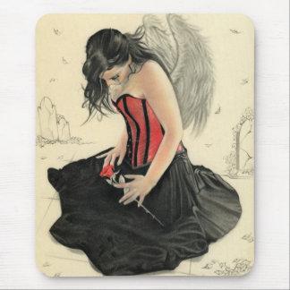 El amor nunca muere el estar de luto del ángel Mou Tapete De Ratones