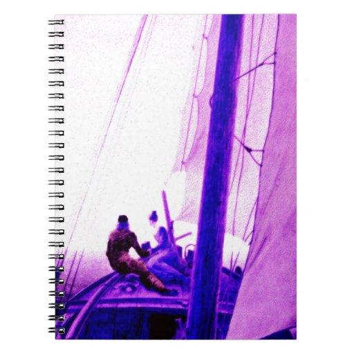 El amor, pasión, vinculación, unicidad, nave, agit libro de apuntes con espiral