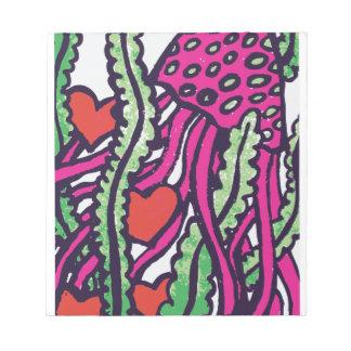 El amor pica medusas y corazones