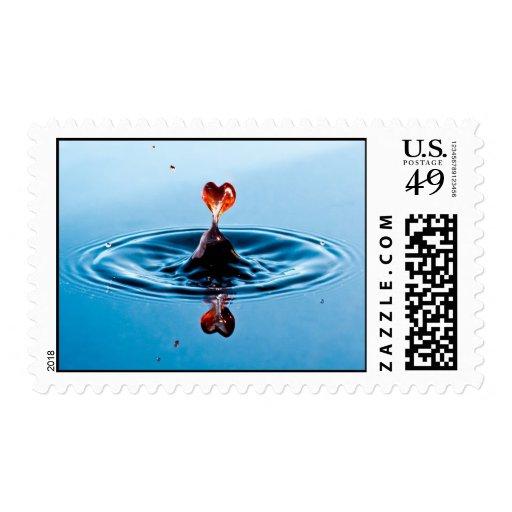 El amor puro, crea el sello de USPS para requisito