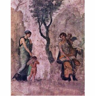 El Amor que castiga de Pompejanischer Maler Um 25 Fotoescultura Vertical