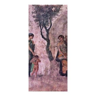 El Amor que castiga de Pompejanischer Maler Um 25 Lona Publicitaria