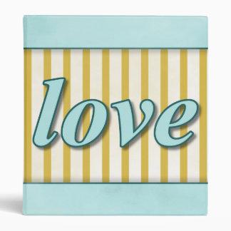 """El """"amor"""" rayó la aguamarina azul anaranjada del carpeta 1"""""""