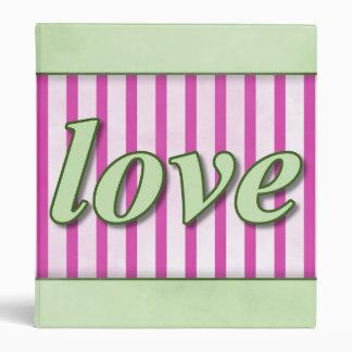 """El """"amor"""" rayó verde magenta del fondo carpeta 1"""""""