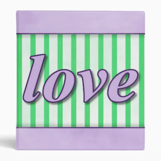 "El ""amor"" rayó verde púrpura del fondo carpeta 1"""