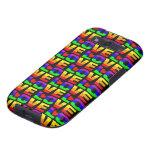 El amor Samsung del arco iris encajona Galaxy S3 Protector