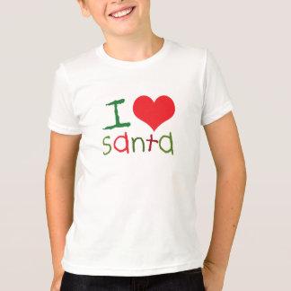 El amor Santa de los niños I embroma la camiseta Playeras