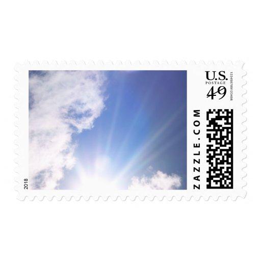 El amor se escribe en la nube timbres postales