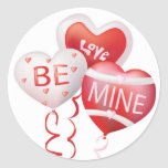 El amor sea el mío - pegatina de la tarjeta del