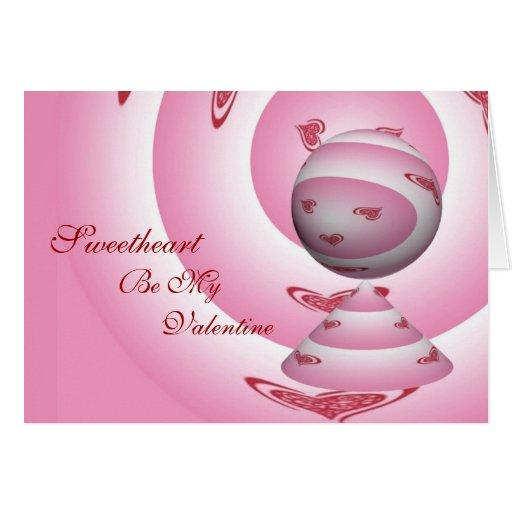 ¡El amor sea mi tarjeta del día de San Valentín!