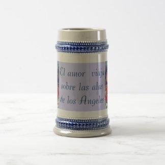 El amor stein coffee mug