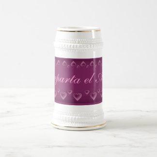El amor stein coffee mugs