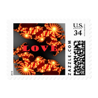 El amor tiene un día agradable y sellos mejores de