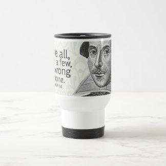El amor todo de Shakespeare, confía en algunos, ha Taza De Viaje De Acero Inoxidable