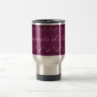 El amor travel mug