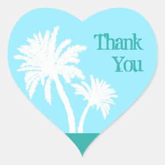 El amor tropical le agradece pegatina en forma de