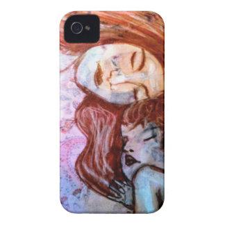 El amor verdadero es el de la madre para el niño Case-Mate iPhone 4 funda