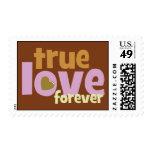 El amor verdadero sella para siempre franqueo