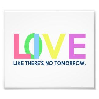 El amor vivo como allí es ningún mañana fotografías