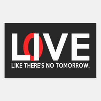 El amor vivo como allí es ningún mañana rectangular altavoz