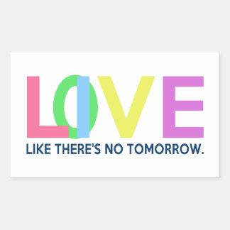 El amor vivo como allí es ningún mañana rectangular altavoces