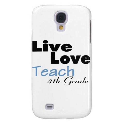El amor vivo enseña al 4to grado (azul)