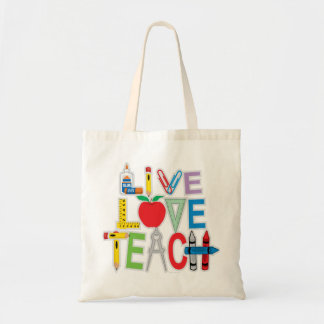 El amor vivo enseña bolsa tela barata