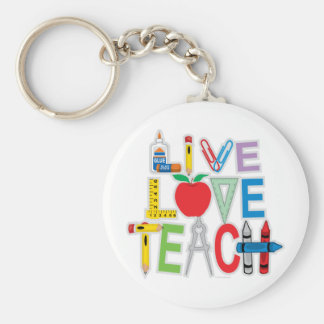 El amor vivo enseña llavero personalizado