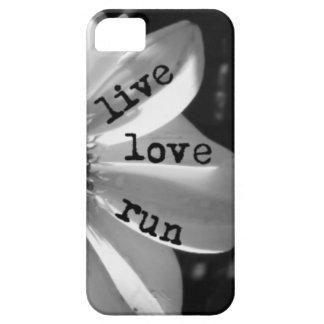 El amor vivo funciona con la caja del teléfono por iPhone 5 carcasas