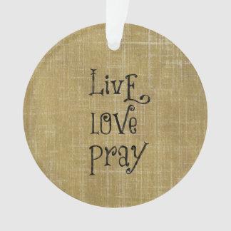 El amor vivo ruega la afirmación cristiana de la