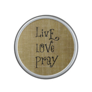El amor vivo ruega la afirmación cristiana de la altavoz