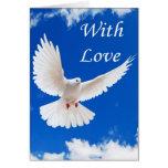 El amor vuela adentro tarjeton