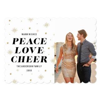 """El amor y anima la tarjeta de la foto del día de invitación 5"""" x 7"""""""