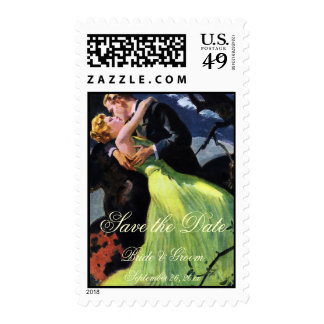 El amor y el romance del vintage, ahorran las fech sellos