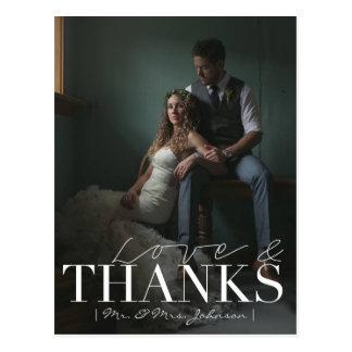 El amor y las gracias modernos el | que se casa le tarjeta postal